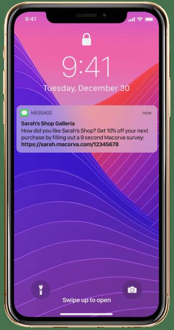 Phone notification